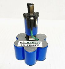 DeWALT 9.6V DW9062 Replacement Battery Internals with TENERGY NiCd cells