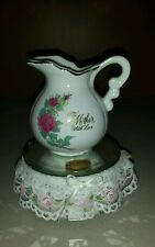 to mother music box with love pitcher turning spinning