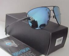 REVO black/blue water WINDSPEED POLARIZED RE 3087 01 aviator SUNGLASSES NEW