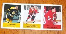 Loblaws / Save Easy NHL action players 1974-75 3 unused stamps Phil Esposito +