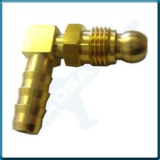 """Fitting (1/2""""x20unf Thread with 8mm 90 Degree Barbed Pipe"""