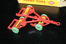 DINKY TOYS 323  * TRIPLE GANG MOWER * ORIGINAL & OVP * 1956