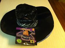 Mac Daddy Pimp Hat Hustla Hustler Hot City Nights Costume Halloween Party NWT
