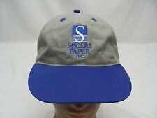 SPICERS PAPER INC. - EMBROIDERED - ADJUSTABLE BALL CAP HAT!