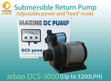 Jebao DCS-3000 return pump with conrtoller and adjustable power (Up to 3200 LPH)