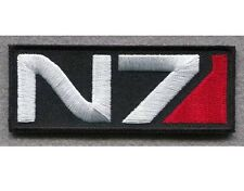 """High Quality MASS EFFECT N7 Tactical Embroidered Iron On Patch - (1.25""""x2.25"""")"""