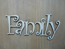 Familia De Madera words/letterspersonalised nombres wedding/home/gift Letras Nombres