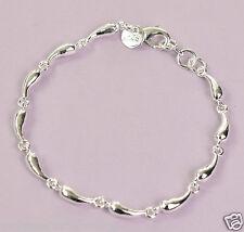 Armband 925 Sterling Silber plattiert Armreif Schmuck Damen Kettchen Neu