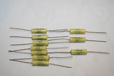 SPRAGUE 0.1 uf mfd 100 nf 600V 430P WECO  Film capacitors tube guitar amp 10