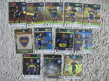 Panini Adrenalyn fifa 365 machine logo key boca juniors goal complete dynamo 12