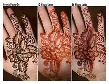 12 X 40g Henna Mehndi Temporary Tattoo Cone Fresh Wedding Diwali Eid New Year