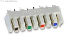 MOD-TAP - 36.A0760 - TERMINAL BLOCK, IDC, WHITE, 4PAIR Price For: 5