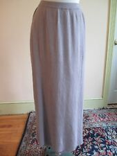 Galinda Wang LONG KNIT SKIRT Size M  New w/Tags EZ Care Retail $162