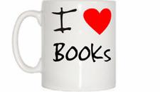 I Love Heart Books Mug