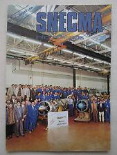 1/1986 SNECMA INFORMATIONS 298 1000ème ATAR 9K50 ENGINE PROPFAN UDF NASA