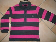 (H952) Little Marc Jacobs Boys Langarm Polo Shirt +Logo Druck & Stickerei gr.116