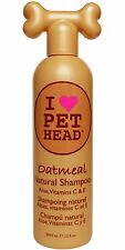 I Love Pet Head Oatmeal Natural Shampoo - 12 Ounce For Dogs