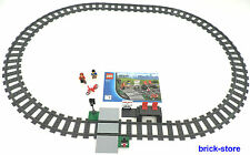 LEGO® Eisenbahn (60051) Schienenkreis mit  Bahnhof 16 x Gebogne 4 x Gerade