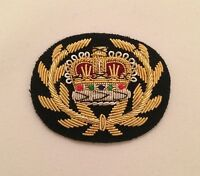 WO2 RQMS Crown & Wreath, Warrant Officer, Mess Dress, Black, Army, Military