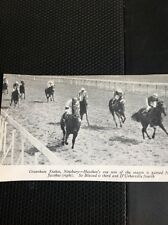 L1-3 Ephemera 1968 Small Picture  Horse Racing Newbury Heathen Jacobus