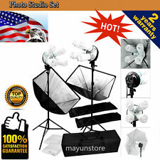 1600w Photography Softbox Light Stand Photo Studio Video Continuous Lighting OY