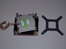 New Old stock  Dynatron LGA775 1U Copper 3 pin Fan heat sink Ship fast