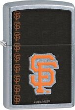 Zippo 2016 Catalog NEW MLB San Francisco Giants Street Chrome Lighter 29112