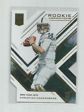 2016  Elite  CHRISTIAN HACKENBERG   Rookie Aspirations