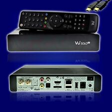 VU+ Solo SE V2 Full HD Linux Receiver Single Sat 1x DVB-S/S2 schwarz B-Ware