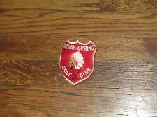 indian springs golf club, patch,marlton,new jersey, new old stock, 1960's