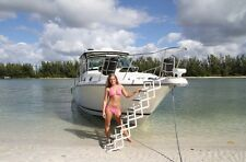 7 Step Accordion Style Bow To Beach Boat Ladder