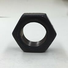 Left Hand Thread Hex Nut Finished Jam Thin Fine Thread 1-1/8-12  (2 Pcs) 5/8""