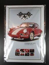 Blechschild Porsche 911,Nostalgie Metall Schild 30 cm metal shield ,NEU