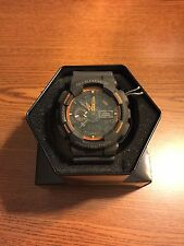 Brand New Casio Men's G Shock GA110TS-1A4 Analog-Digital Display NWT!!