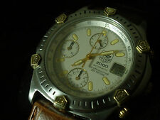 TAG Heuer Super 2000 165.806/1 Automatic Chronograph Stainless 18K Gold LWO 283