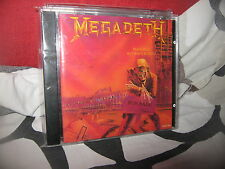 MEGADETH-PEACE SELLS...BUT WHO'S BUYING?-CD JAPAN OBI-1995 REMASTER