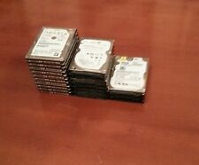 Lot Of 17 x FAULTY Internal Laptop Hard Drives 500GB (Hitachi,Seagate,WD) AS IS