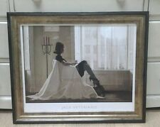 In Thoughts of You by Jack Vettriano Large Deluxe Framed Art Print Romantic