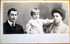 1910 Realphoto Postcard: Kenneth Haines & Family - Petersburg, PA/IL/IN/VA?