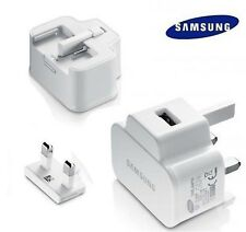 GENUINE SAMSUNG GALAXY S4 S2 S3 S5 & S6 NOTE 2, 3 & 4 MAINS WALL CHARGER  PLUG