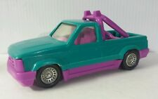 TootsieToy Custom Cruiser  Pick Up Green and Pink Truck Made in USA