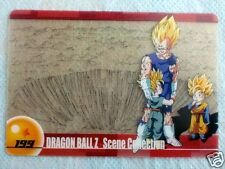 HTF JAPAN DRAGONBALL x MORINAGA Wafer SuShuu Card MAJIN VEGETA TRUNKS GOTEN 199
