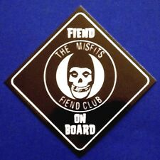 THE MISFITS fiend on board STICKER **Free Shipping** - static age, club, S-7937