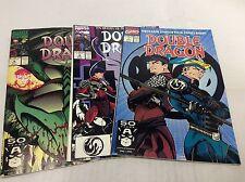 DOUBLE DRAGON #1-4 (MARVEL/NINTEDNO GAME/TOM RANEY/0315242) NEAR FULL SET OF 3