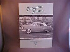 1954 Ford Fairlane Sunliner convertible featured CVA FoMoCo Times July 2003