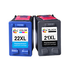 2PACK For HP 21 22 ink cartridge 21XL 22XL for HP Deskjet