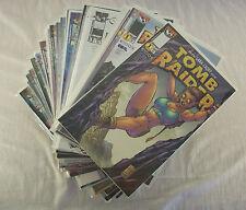Tomb Raider Lara Croft #0-19 + VARIANTS + EXTRAS Volume 1 Image 1999 (49 Comics)