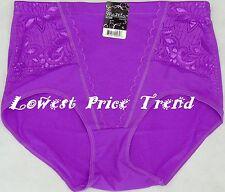 GIRDLE PANTY High-Waist Briefs Tummy Control Shaper GL7066 Size: 3XL, Purple