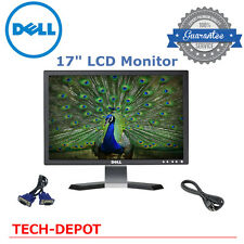 """DELL HP SAMSUNG MAJOR BRAND 17"""" Matching LCD Monitors w/ cables- GOOD DEAL!!"""