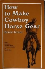 How to Make Cowboy Horse Gear / bridles/ hackamores/ reins/ reatas/ quirts